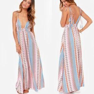 Lulu's - Maxin Relaxin Maxi Dress
